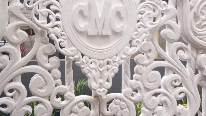 "Dekorasi pelaminan Sterypoam ""CMC"